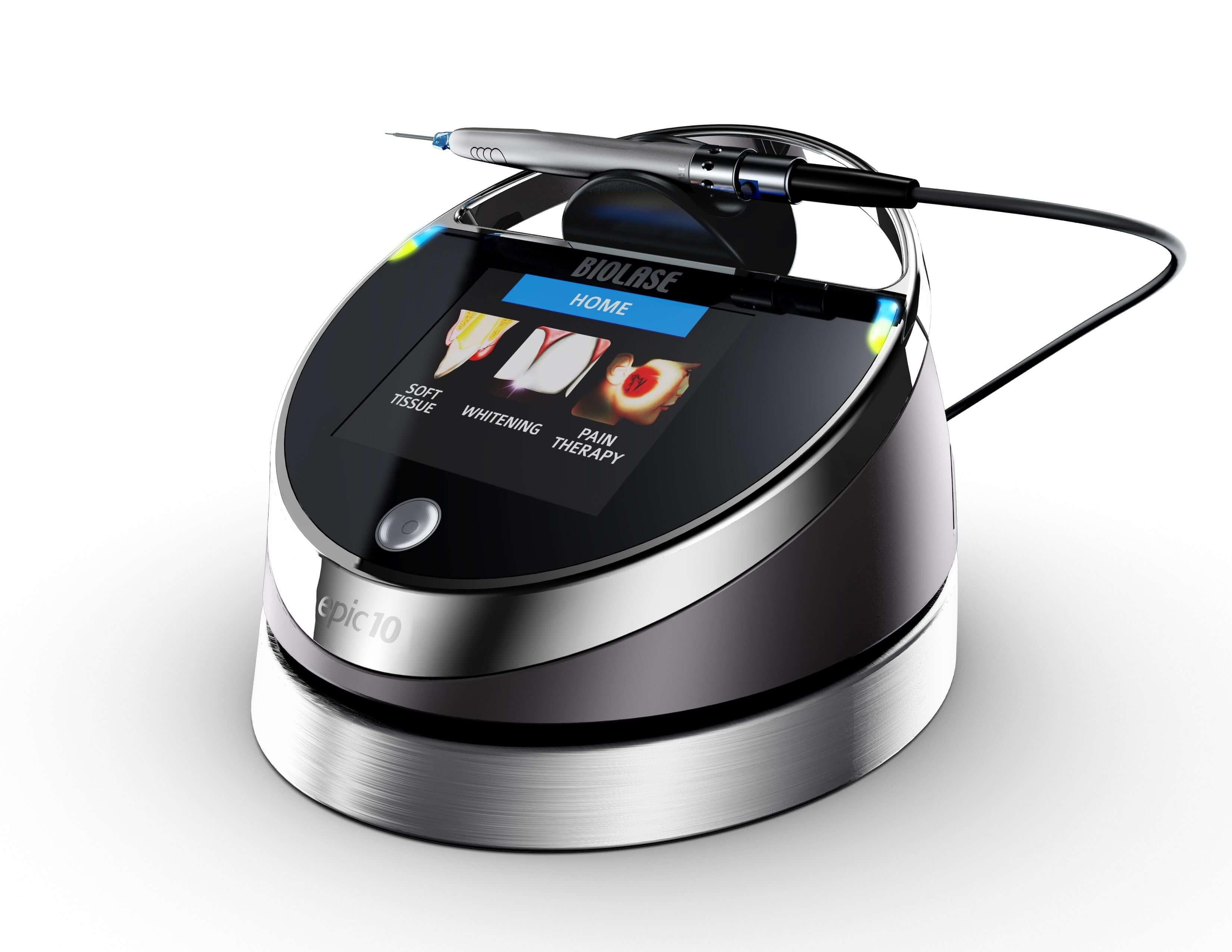 Primena Biolase lasera za uklanjanje plika i frenuluma.