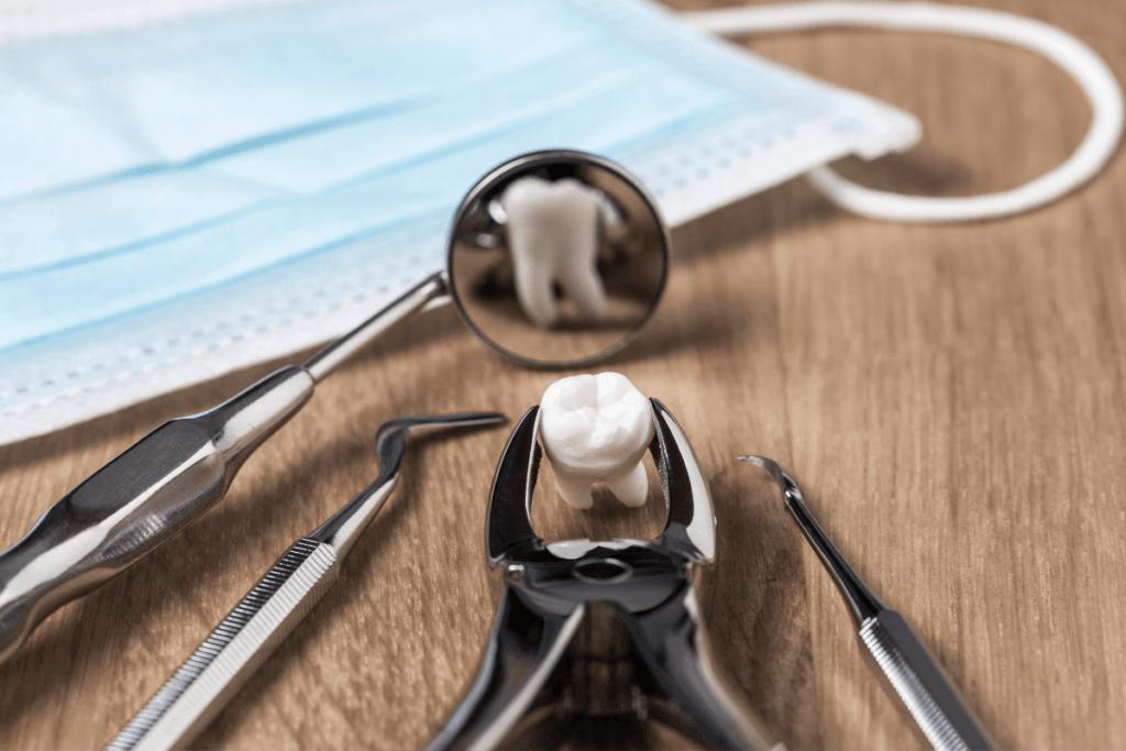 Rutinsko vađenje zuba kleštima